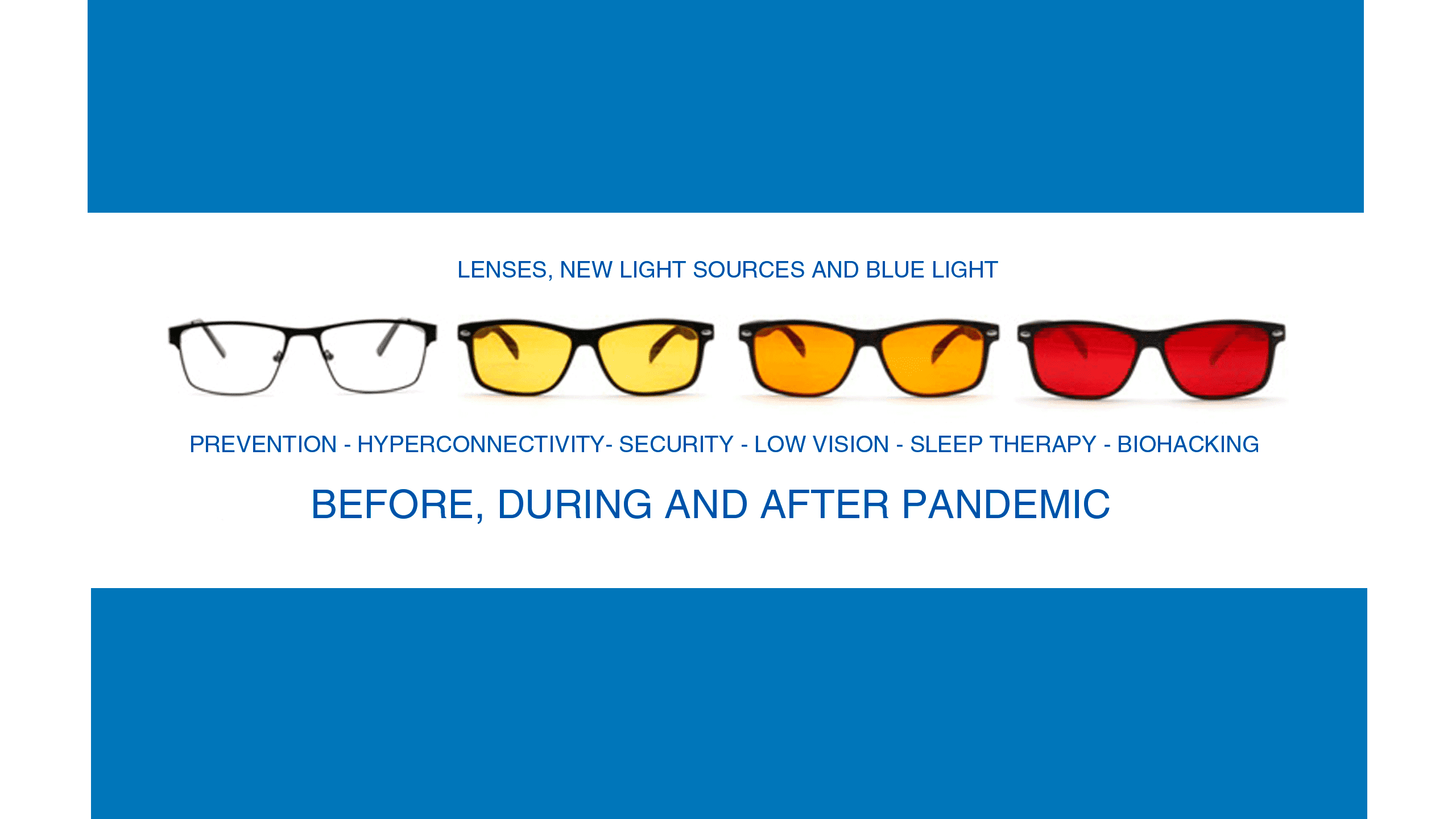 Lenses: before, during and after pandemic